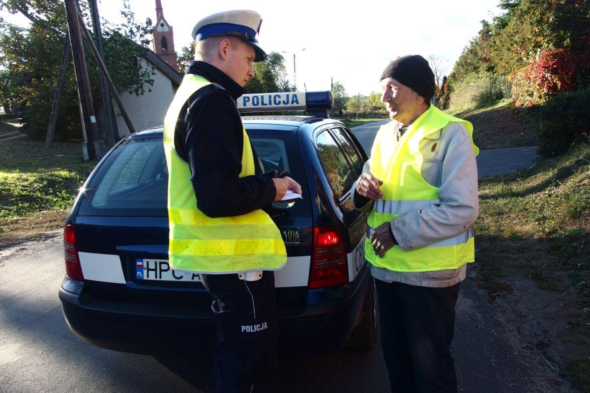 """Komunikaty Policja, Policyjne działania """"Pieszy"""" - zdjęcie, fotografia"""