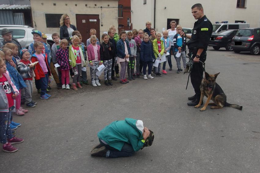 Komunikaty Policja, Tłumy inowrocławskiej komendzie - zdjęcie, fotografia