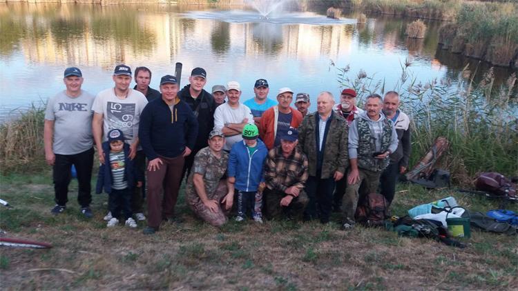 Wiadomości, Wędkarze rywalizowali rąbińskim stawie - zdjęcie, fotografia