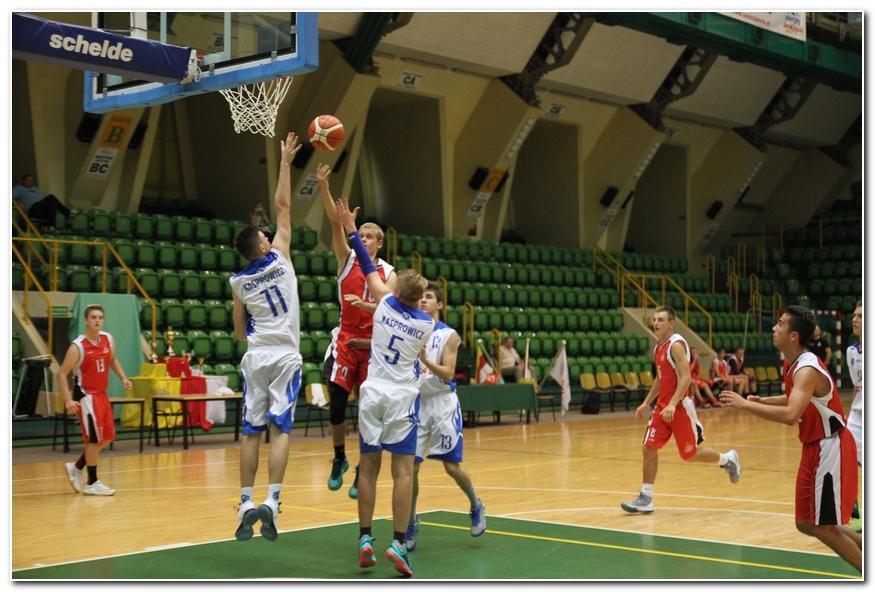 Koszykówka, Kasprowicz pierwszą wygraną - zdjęcie, fotografia