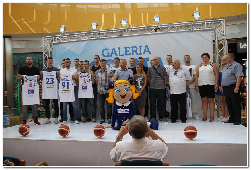 Koszykówka, Noteć zaprezentowała kibicom - zdjęcie, fotografia