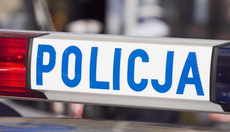 Komunikaty Policja, Kolizja zakazem - zdjęcie, fotografia