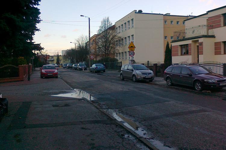 Społeczeństwo, Kobylarnia wyremontuje ulice Sobieskiego - zdjęcie, fotografia