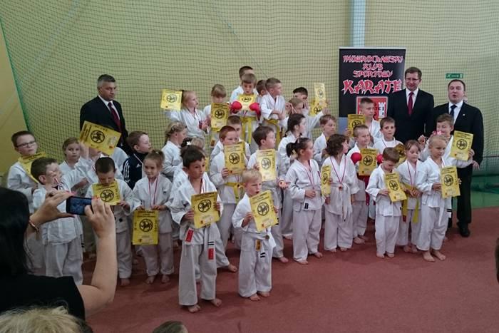 sport, Karatecy zakończyli szkolny zawodami Kruszwicy - zdjęcie, fotografia