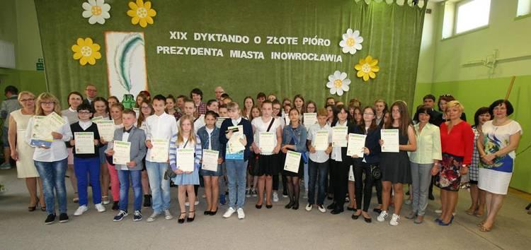 edukacja, Złote Pióro Prezydenta - zdjęcie, fotografia