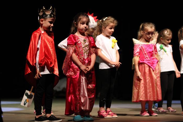 edukacja, Odbył Przegląd Teatrzyków Dziecięcych - zdjęcie, fotografia