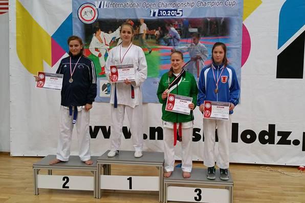 sport, Karatecy ponowie zawiedli - zdjęcie, fotografia