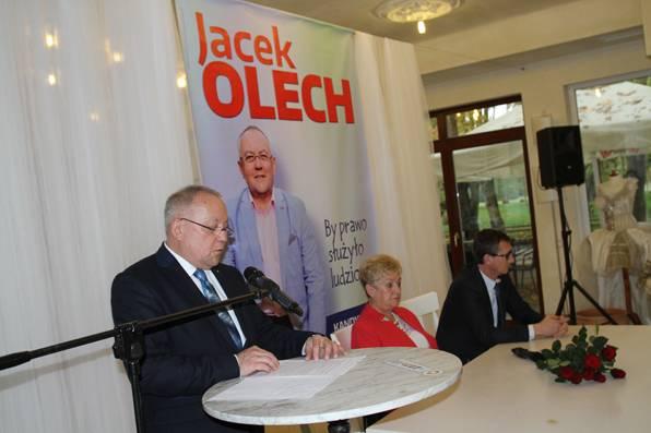 wiadomo, Konwencja wyborcza Jacka Olecha - zdjęcie, fotografia