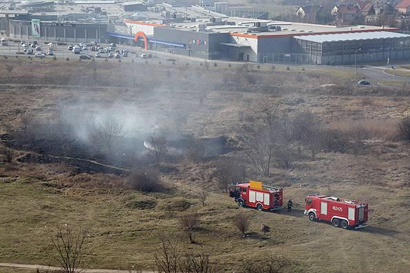 Straż Pożarna - interwencje , Rozpoczął sezon wypalania - zdjęcie, fotografia