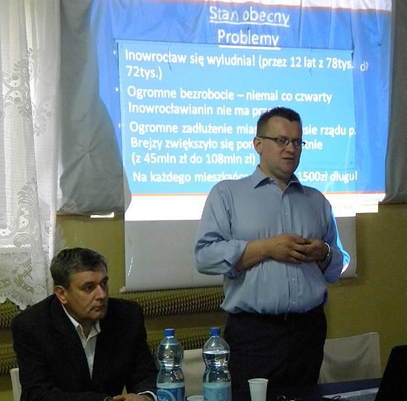 """wybory, """"Nowy Inowrocław"""" rozpoczął konsultacje - zdjęcie, fotografia"""