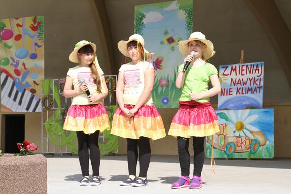 edukacja, Dzieci świętowały Dzień Ziemi Parku Solankowym - zdjęcie, fotografia