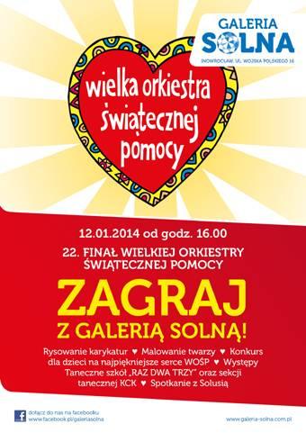 WOSP, Galeria Solna zagra WOŚP - zdjęcie, fotografia