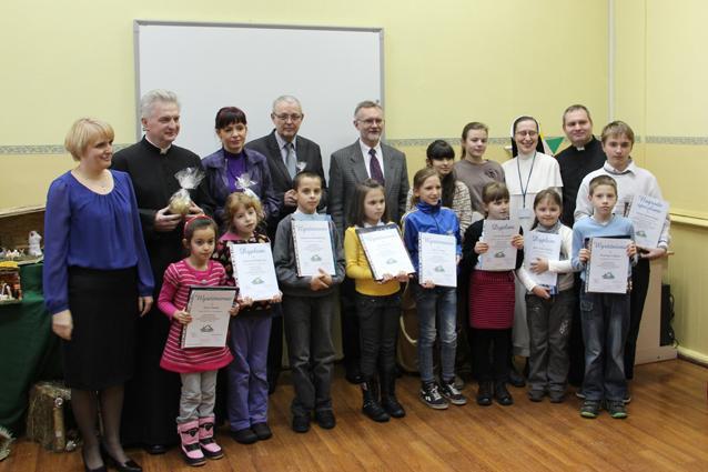 edukacja, Nagrodzono najładniejsze szopki - zdjęcie, fotografia