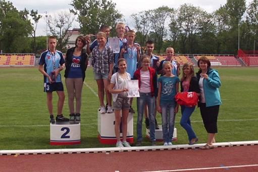 sport, Wielki sukces młodych inowrocławskich lekkoatletów - zdjęcie, fotografia