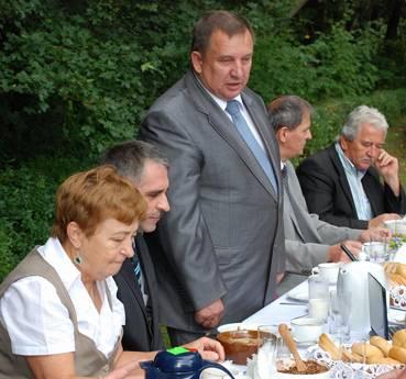 wybory, Tadeusz Majewski zainaugurował kampanię wyborczą - zdjęcie, fotografia