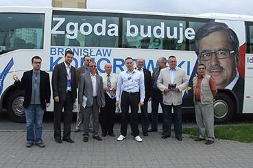 wiadomo, Błękitny odwiedził Inowrocław - zdjęcie, fotografia
