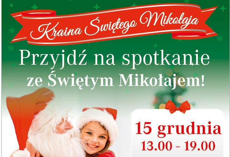 Festyny, Przyjdź spotkanie Świętym Mikołajem! - zdjęcie, fotografia