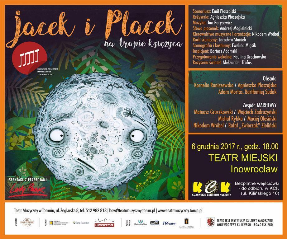 """Teatr, """"Jacek Placek tropie księżyca"""" - zdjęcie, fotografia"""