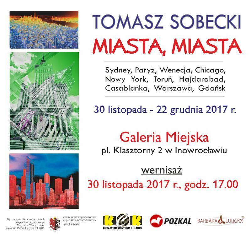 Wystawy, Wystawa pracTomasza Sobeckiego - zdjęcie, fotografia