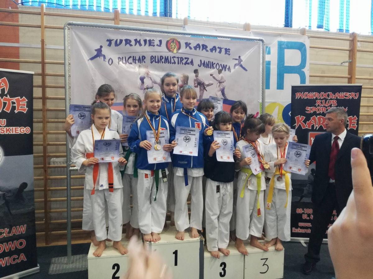 Wiadomości, karate Janikowie - zdjęcie, fotografia