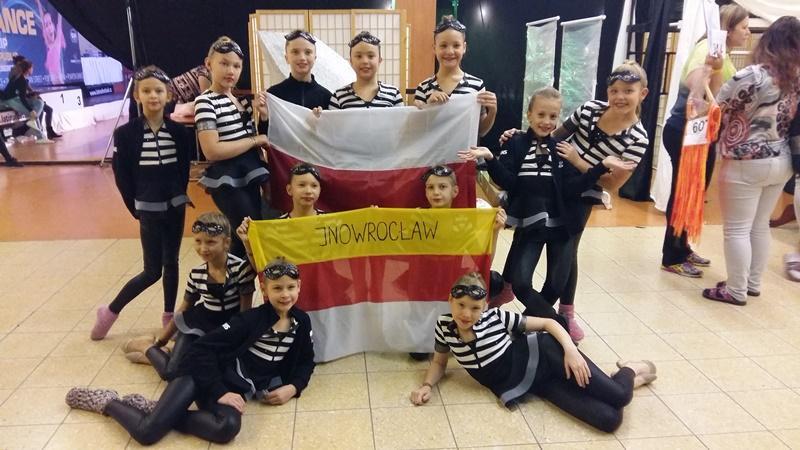 Kultura, Inowrocławianie mistrzami świata tańcu - zdjęcie, fotografia