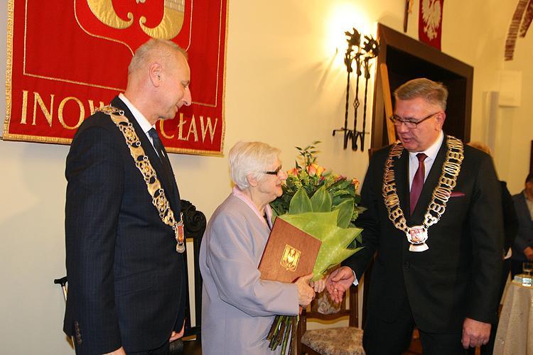 Samorząd, Teresa Klonowska Honorowym Obywatelem Miasta - zdjęcie, fotografia