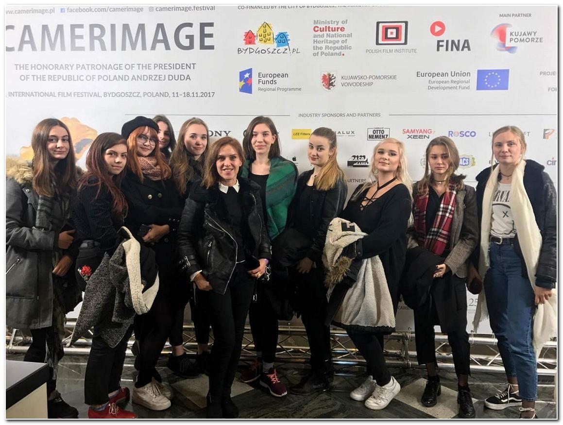 Kultura, Inowrocławska młodzież Camerimage Festival - zdjęcie, fotografia