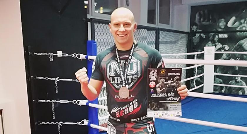 Sporty walki, Mateusz Baranowski medalem - zdjęcie, fotografia