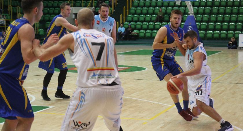 Koszykówka, Drugie rzędu zwycięstwo Noteć - zdjęcie, fotografia