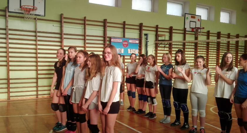 Siatkówka, Gwiazdkowy Turniej Siatkówki Dziewcząt - zdjęcie, fotografia