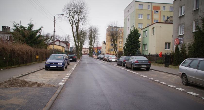 Gospodarka, Ulica Jagiełły poprawki - zdjęcie, fotografia