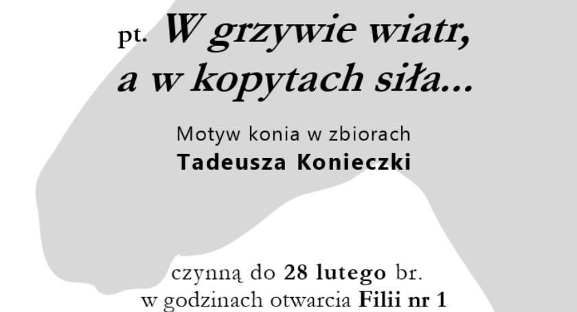 Wystawy, Wystawa jubileusz Tadeusza Konieczki - zdjęcie, fotografia