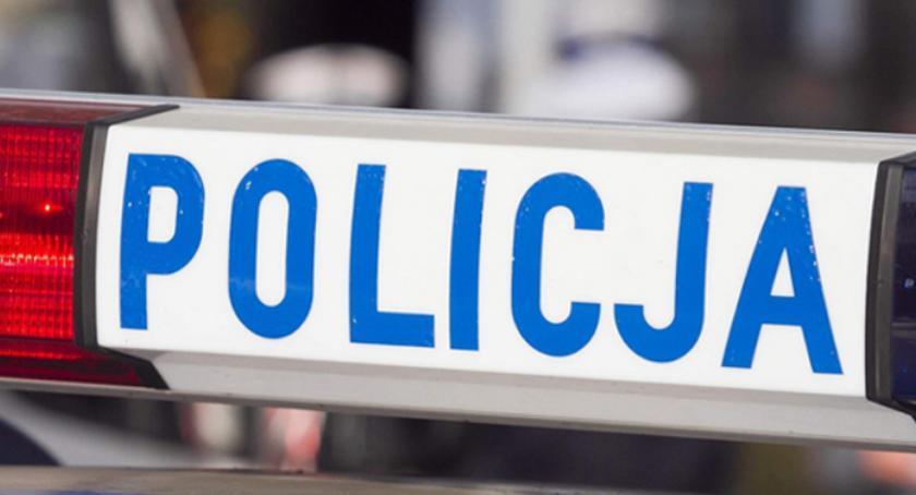 Komunikaty Policja, widział znaku - zdjęcie, fotografia