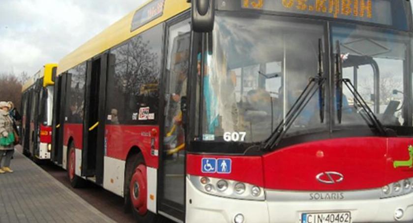 Komunikaty, handlu autobusu - zdjęcie, fotografia