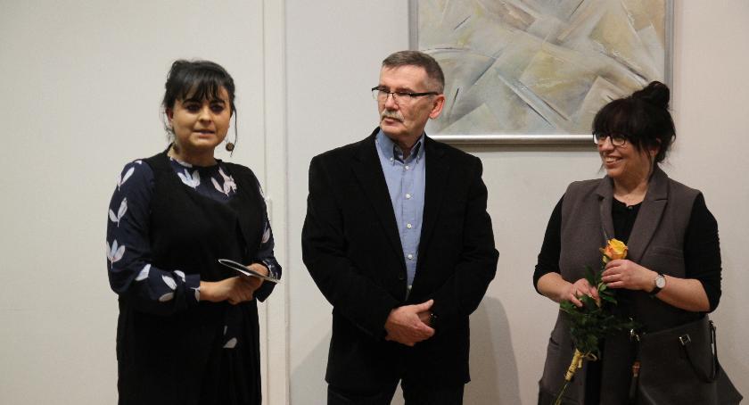 Wystawy, Malarstwo Janusza Argasińskiego inowrocławskiej galerii - zdjęcie, fotografia