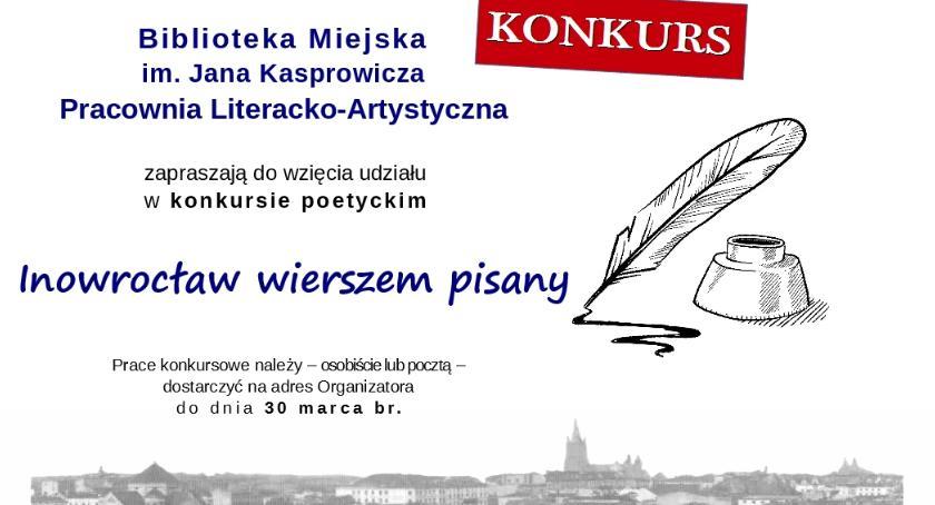 Poezja, Inowrocław wierszem pisany - zdjęcie, fotografia