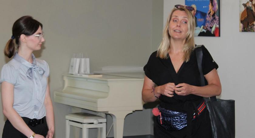Wystawy, Marta swoją wystawą Inowrocławiu - zdjęcie, fotografia