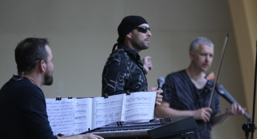 Koncerty, Legendy polskiej estrady scenie Solankach - zdjęcie, fotografia