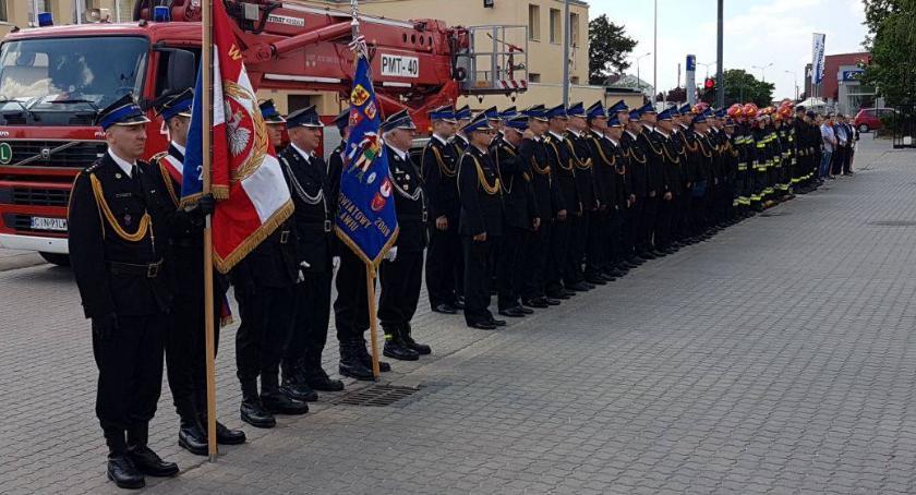 Straż Pożarna - interwencje , Obchodzili Dzień Strażaka - zdjęcie, fotografia