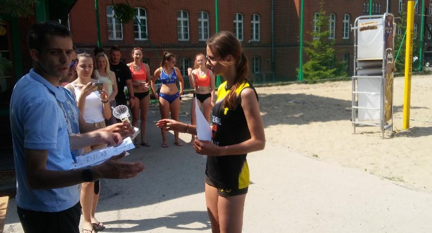 Siatkówka, Siatkarki Konopy podium Finale Licealiady - zdjęcie, fotografia