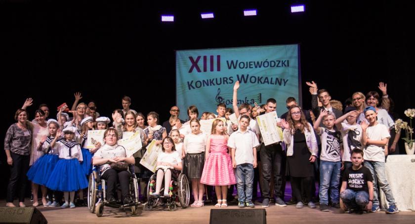 """Koncerty, Wojewódzki Konkurs Wokalny """"Piosenka barier"""" - zdjęcie, fotografia"""