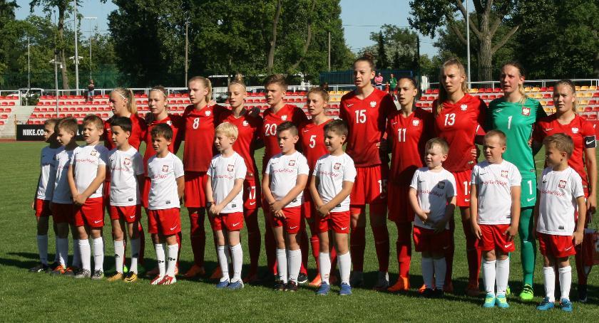 Piłka nożna, Eliminacji Mistrzostw Europy Kobiet Polska Grecja - zdjęcie, fotografia