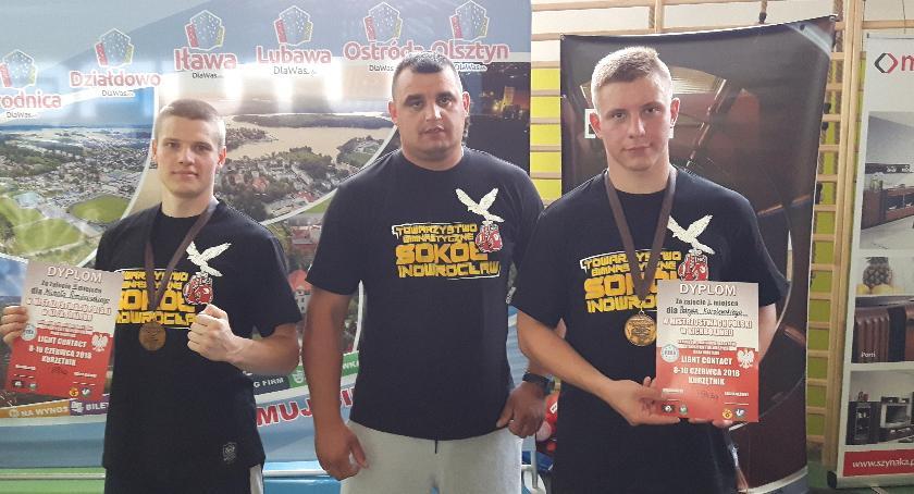 Sporty walki, Dobry występ kckboxerów Sokoła - zdjęcie, fotografia