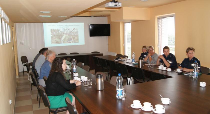Komunikaty Policja, Służby organizatorzy obozów wspólnym szkoleniu - zdjęcie, fotografia