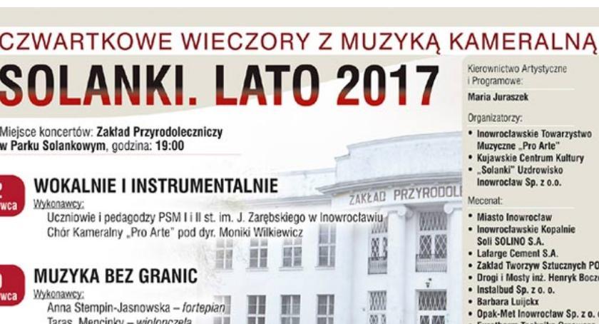 """Koncerty, Czwartkowe Wieczory Muzyką Kameralną Solanki 2018"""" - zdjęcie, fotografia"""