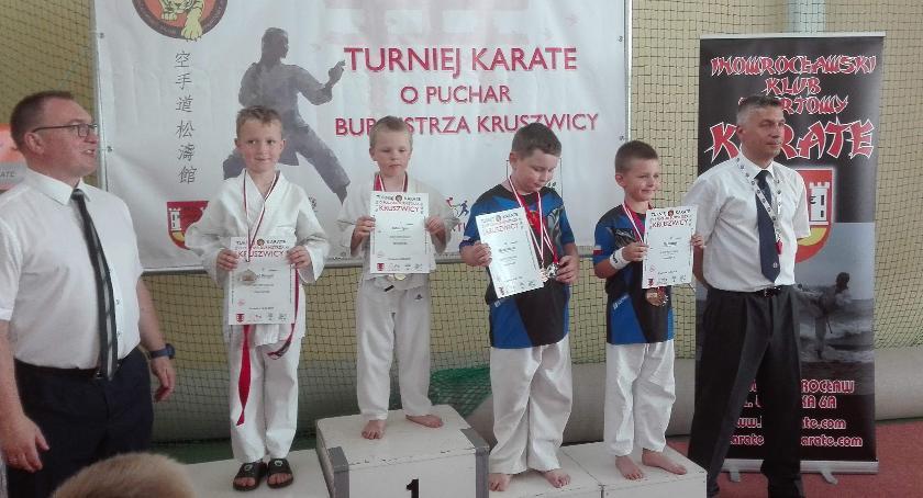 Sporty walki, Dobry występ karateków Kruszwicy - zdjęcie, fotografia