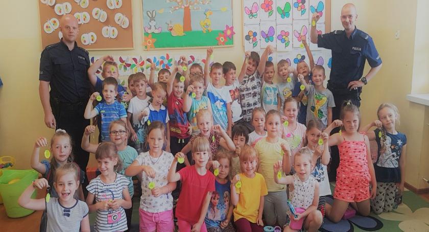 przedszkola, Bezpieczni drodze wodzie - zdjęcie, fotografia