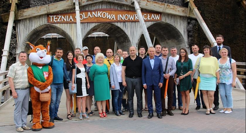 Samorząd, Samorządowcy Ukrainy gościli inowrocławskim ratuszu - zdjęcie, fotografia