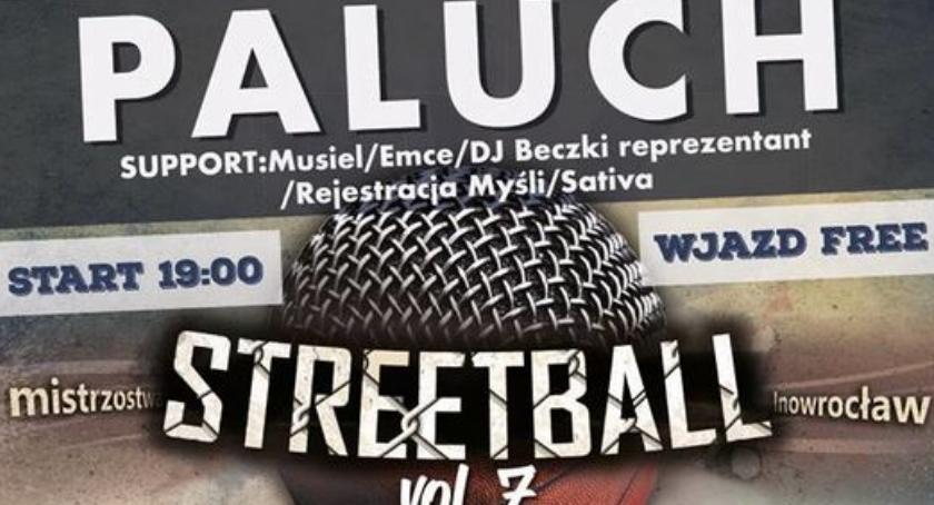 Koszykówka, Mistrzostwa STREETBALL koncert PALUCHA - zdjęcie, fotografia