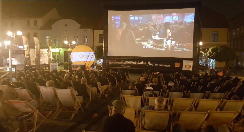 Kino, Vegas inowrocławskim Rynku - zdjęcie, fotografia